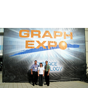 The GRN Concord Team at GraphExpo 2011 in Chicago.