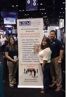 The GRN Concord Team at GraphExpo 2012 in Chicago.