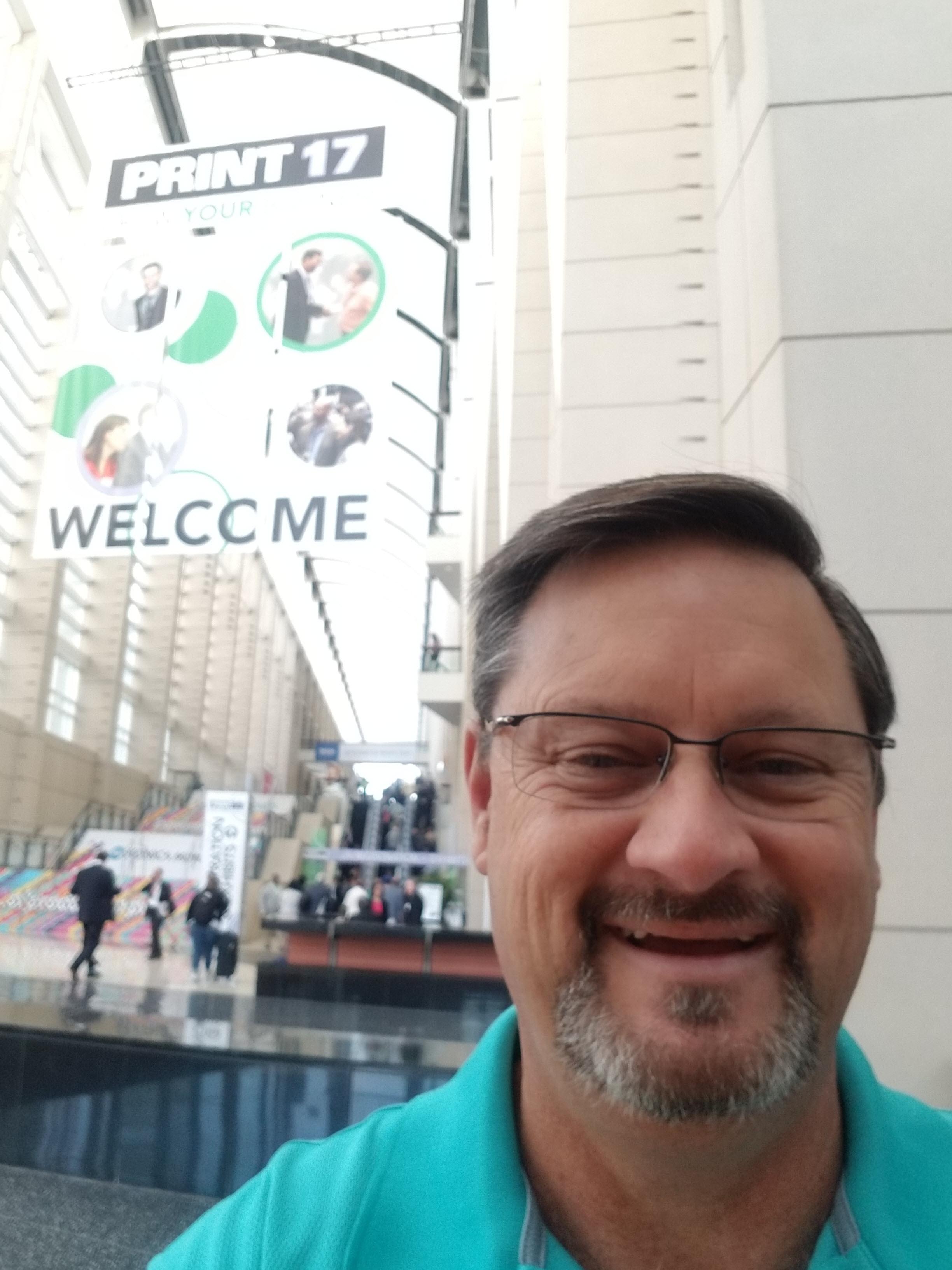 Ken Ballard at GraphExpo 2017.