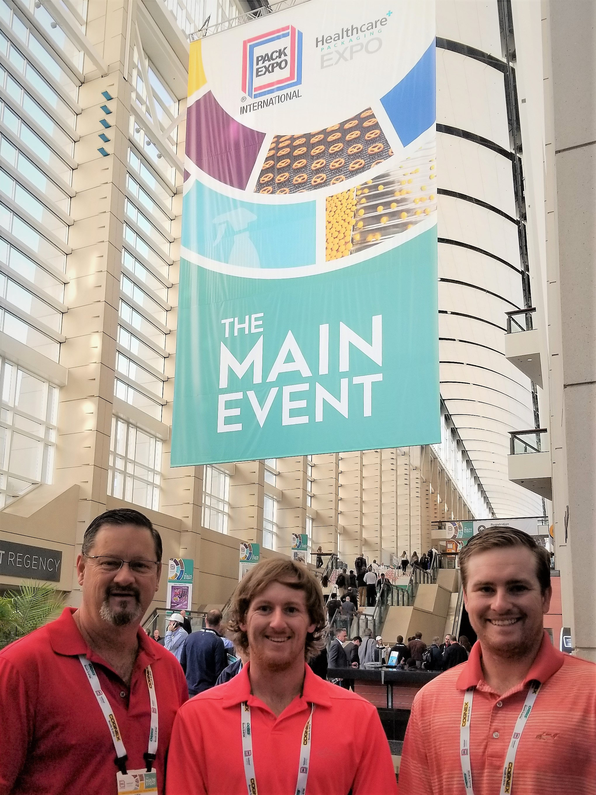 Ken, Josh, and John Ballard at Pack Expo 2018.