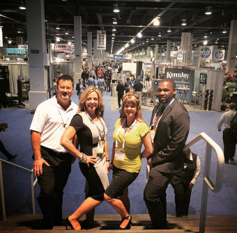 The GRN Concord Team at Pack Expo 2015 in Las Vegas.